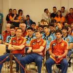 Recepción oficial a la Selección sub-19 de fútbol: «Queremos devolver con buen juego y goles el cariño que nos está dando Daimiel»