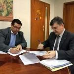 Firmado el contrato de prestación de servicios entre el Consorcio RSU y la empresa del Centro de Empleo Eulen