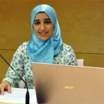 """Halima Mourid """"deja sitio"""" para la cocina marroquí en la Biblioteca Pública de Ciudad Real"""