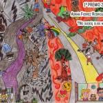 Manzanares: Adrián Fiérrez gana el VI Concurso de Dibujo de Juventud