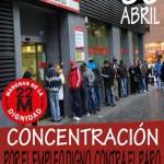 Las Marchas de la Dignidad convocan protestas en las oficinas de empleo de Ciudad Real y Puertollano