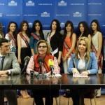 Daimiel acoge a las diez participantes del Certamen Miss Mundo Castilla-La Mancha