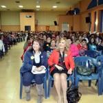 """Nieves Herrero animó a las mujeres de Villarrubia de los Ojos a """"superar todas las barreras, para seguir soñando"""""""