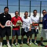 Domingo´s Peluqueros se lleva el trofeo de pádel de las Fiestas de Carrión 2014
