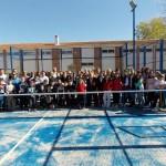 Villamayor de Calatrava inauguró con numerosos vecinos su esperada pista de pádel