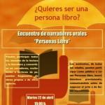 ¿Quieres ser una persona libro?: La Biblioteca de Ciudad Real celebra un encuentro de narradores orales