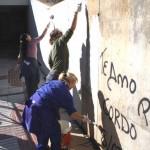 """Puertollano: Eliminadas 750 """"pintadas indecorosas"""" y """"mensajes amorosos""""en espacios públicos"""