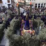 El Sábado de Gloria y Domingo de Resurrección ponen el broche de los ritos singulares en la Ruta de la Pasión Calatrava