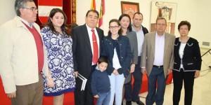 La familia Ortega al completo