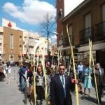 Manzanares: Los personajes vivientes vuelven a la procesión del Domingo de Ramos