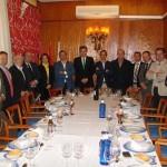 El director general de Caja Rural de Castilla-La Mancha se reúne con el Club Rotario de Ciudad Real