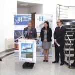 Puertollano: Los universitarios son los primeros en iniciar la ruta por la ciudad de la energía organizada por el Centro Nacional del Hidrógeno