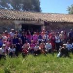 Caminantes de Villamayor, Argamasilla y Corral realizaron una ruta senderista