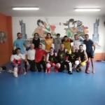 Celebrada una jornada de iniciación al kick boxing en el Shotokan de Ciudad Real