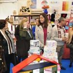 Inauguración de la Feria del Stock de Ciudad Real: la alcaldesa anuncia la puesta en marcha del Plan de Acción Local del Comercio