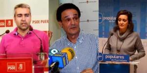 De izquierda a derecha, Sánchez, López y Ciudad
