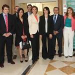 """Cospedal ensalza la vocación empresarial que apuesta por la internacionalización como """"la clave del éxito"""" de la región"""