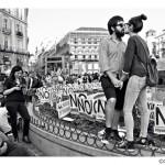 Alumbre expone el retrato de la protesta de Carlos Roca