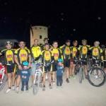 Criptana: Más de 150 ciclistas participaron en la III BTT Nocturna Tierra de Gigantes a beneficio de la Asociación ACMEIM