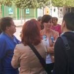 El PSOE se moviliza en la provincia de Ciudad Real para dar a conocer sus propuestas para Europa