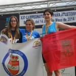 Dos atletas de Puertollano firman una proeza deportiva y suben al podio de las mejores de España