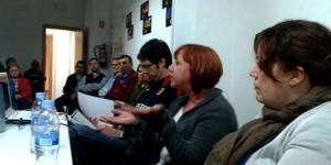 Los asistentes a las jornadas debatieron sobre la problemática del desempleo