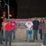 UPyD Valdepeñas comienza la campaña electoral con la pegada de carteles