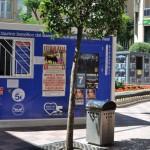 El PSOE pide una ubicación alternativa para el «mamotreto» de las casetas de venta de entradas para los toros y conciertos