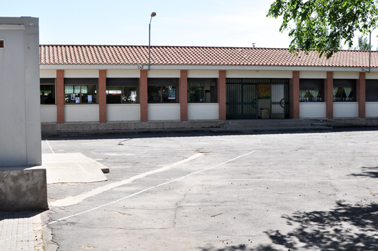 Patio del CEIP Alarcos de Valverde