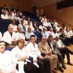 El gerente del Sescam mantiene un encuentro con facultativos y personal sanitario del la Gerencia de Atención Integrada de Ciudad Real