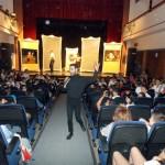 Escolares de Primaria disfrutaron con la obra teatral 'Que yo… no soy El Greco' de la compañía Narea