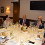 La Asociación de Gourmets de Madrid conoce los vinos de Dehesa del Carrizal durante una cena en Goizeko Gaztelupe