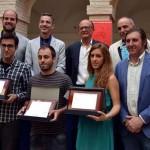 Entregados los premios del Concurso de Diseño de Carteles del 19 Quixote Maratón a Andrés Egea, Inma Zambrano y Sergio Olivotti