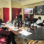 Empresas de la provincia exponen sus productos a profesionales del sector del vino y de la alimentación en Gastronord-Vinordic