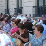 Unas 300 encajeras se reúnen en Alcázar de San Juan