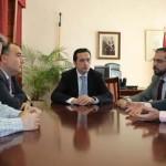 Lucas-Torres se reúne con miembros de la Federación Empresarial de Ciudad Real
