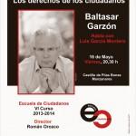 Baltasar Garzón clausura el VI curso de la Escuela de Ciudadanos