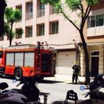 Ciudad Real: Los bomberos sofocan un pequeño incendio en una cocina de la calle Calatrava