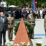 """Manzanares: 440 personas juran bandera y sellan su """"compromiso con la defensa de la nación"""""""