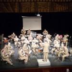 """La banda reestrena el pasodoble """"La liberación de Manzanares"""", del maestro Maroto"""