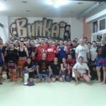 El «metralleta» impartió un curso de kick boxing y K1 en Ciudad Real