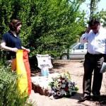 Daimiel: Medio centenar de familiares y amigos homenajean al fallecido Miguel Romero Córdoba
