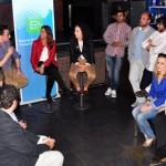 Ciudad Real: Nuevas Generaciones debate sobre empleo juvenil en un disco pub