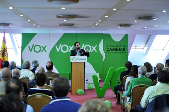 Presentación de VOX en Ciudad Real