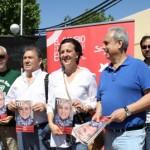 """El PSOE insta a los ciudadanos a poner fin al """"austericidio"""" en el mercadillo de Ciudad Real"""