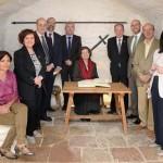 Argamasilla de Alba homenajeó a Martín de Riquer el día que hubiese cumplido 100 años