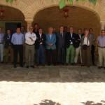El Club Rotario de Ciudad Real se reúne con el responsable de comunicación de Paradores Nacionales