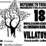 """Varios colectivos de La Manchuela se reúnen en Villatoya (Albacete) por un mundo rural """"verdaderamente vivo"""""""