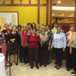 Argamasilla de Calatrava: La alcaldesa acompaña a las viudas en su asamblea regional