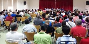 Asamblea de trabajadores de Elcogas (archivo)